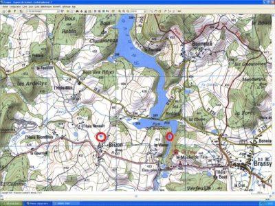 Carte topographique