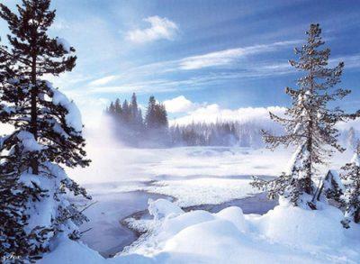 Trouver de l'eau en montagne