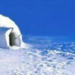L'igloo ou la hutte d'esquimau
