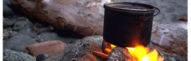Fabriquer une cuisinière de plein air
