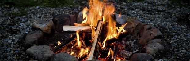 Savoir où faire le feu