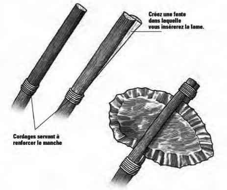 Fabriquer une hache de pierre