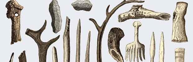Fabriquer des outils en os