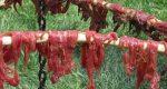 Le séchage et le fumage de la viande