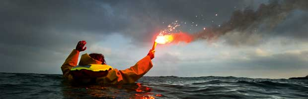 Signaux détresse en mer